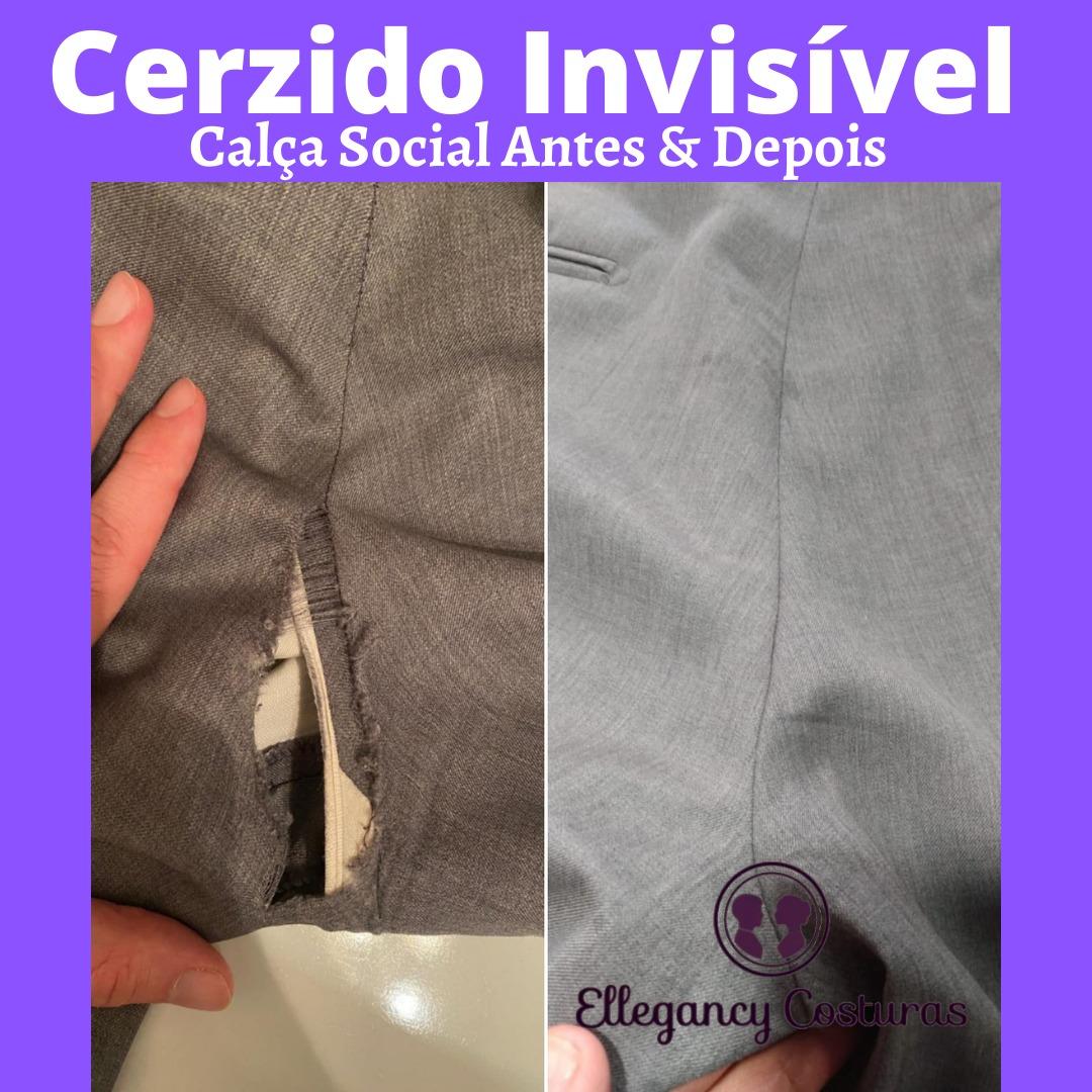 Cerzir roupa invisível ou cerzido de roupa invisível