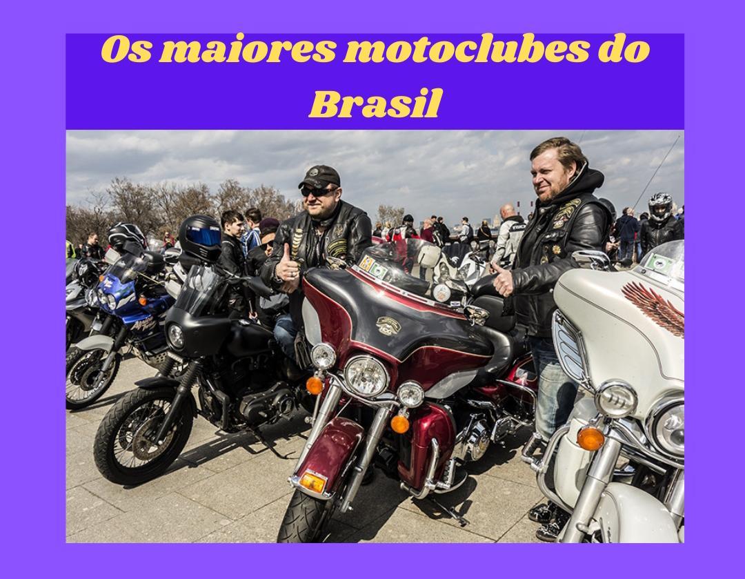 Os maiores motoclubes do Brasil 1