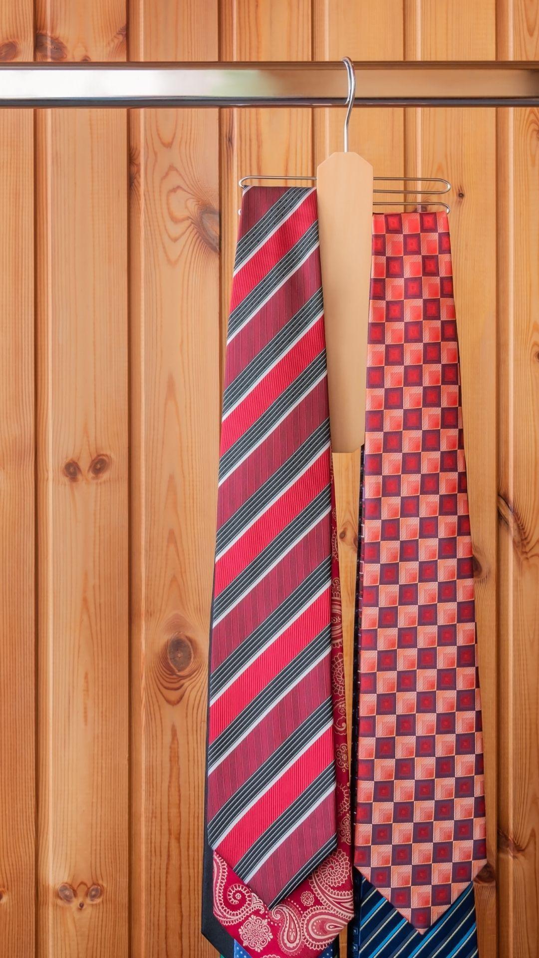 onde ajustar gravatas