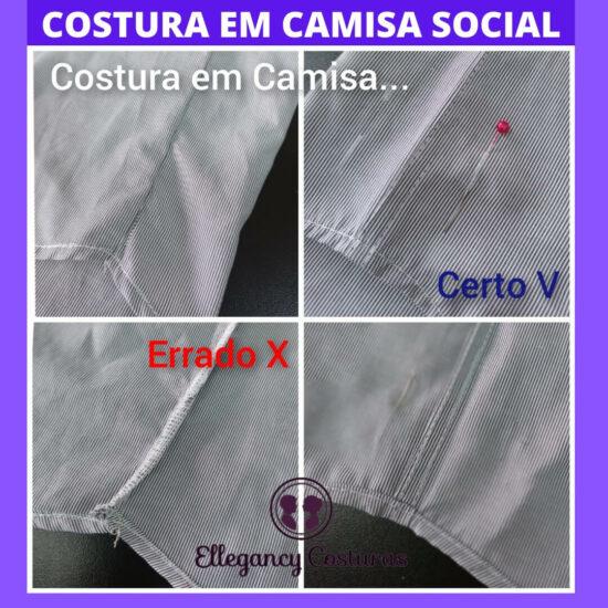 restaurar camisa social